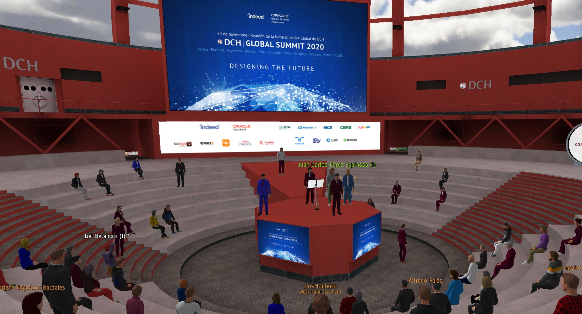 Escenario Evento Virtual