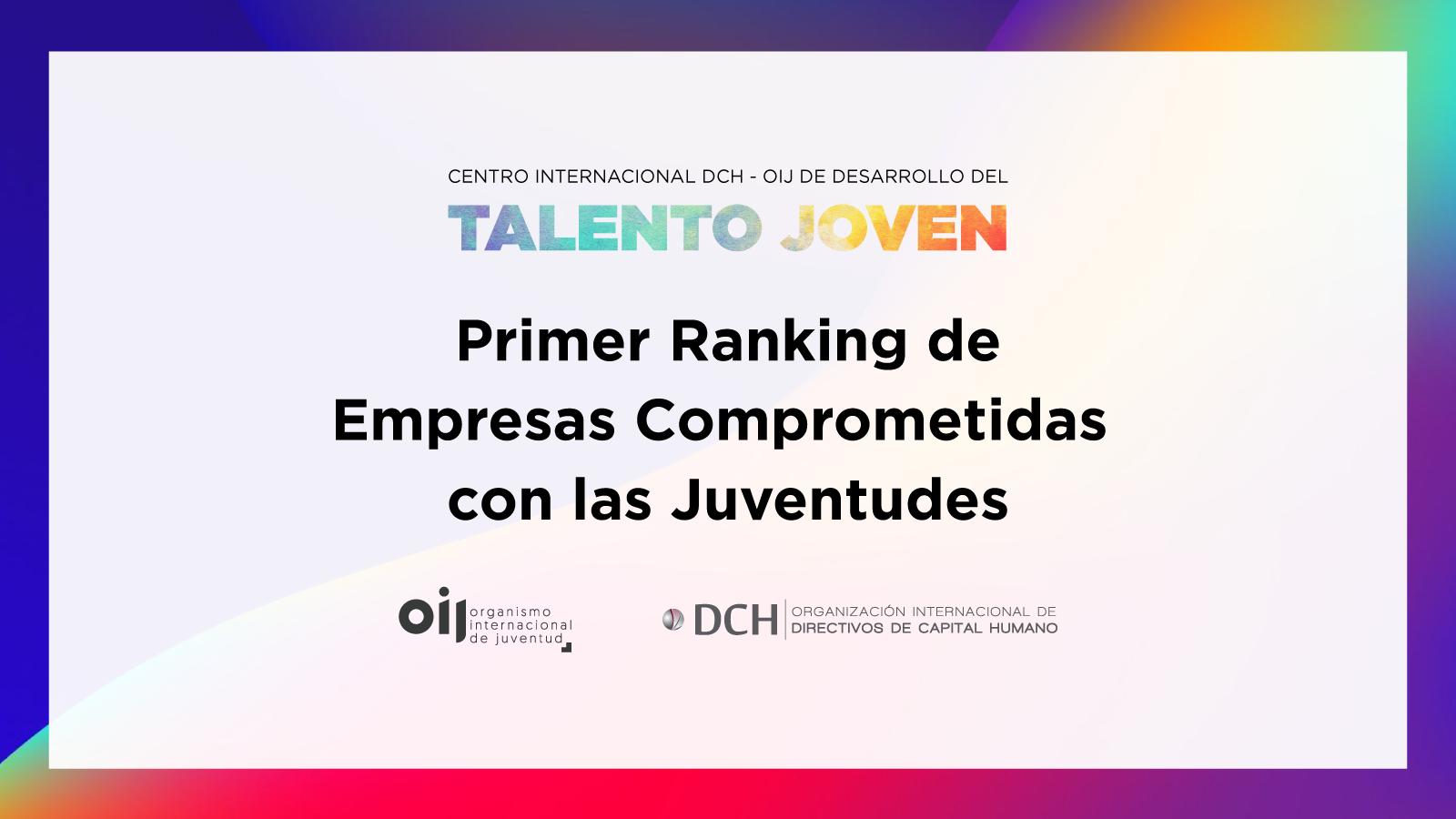 Talento joven Empresas Ranking