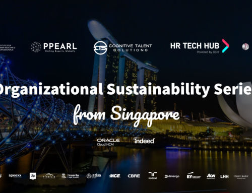 Organizational Sustainability Series from Singapore, the new series on sustainability and wellbeing in organizations