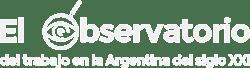 observatorio de trabajo de argentina